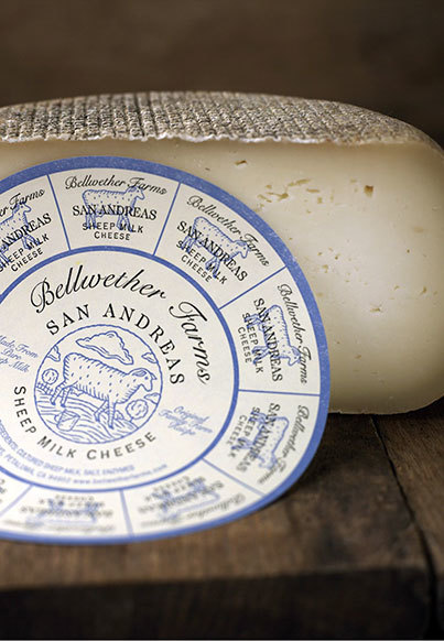 Bellwether San Andreas Cheese Whole Wheel