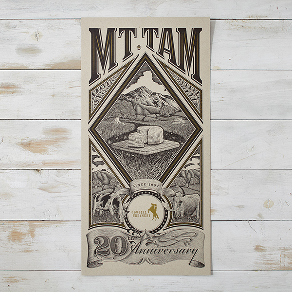 Mt. Tam Commemorative Poster